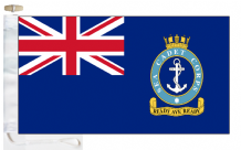 Sea Cadet Corps SCC Ensign Courtesy Boat Flags (Roped and Toggled)